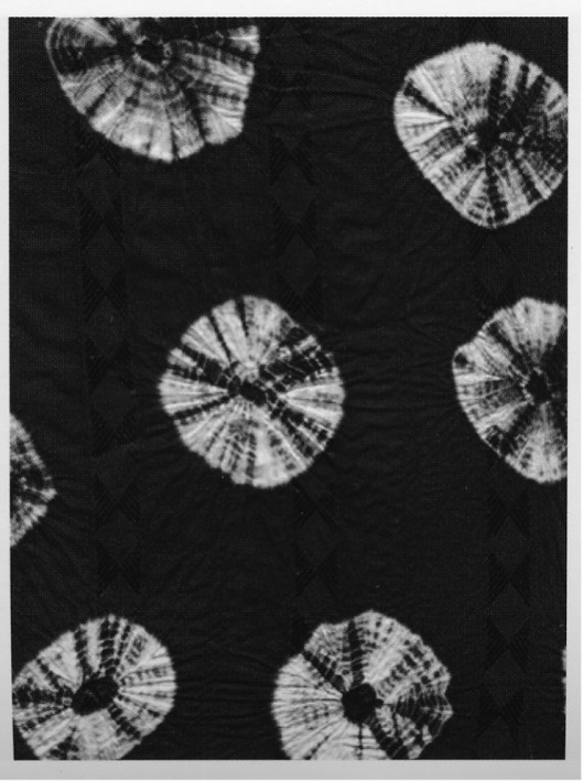 shibori technique de teinture couture à la main