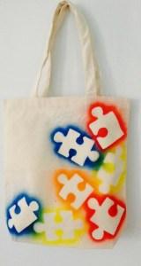 puzzle pochoir