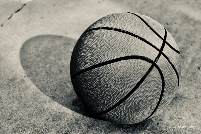 Basket ball by Jez Braithwaite