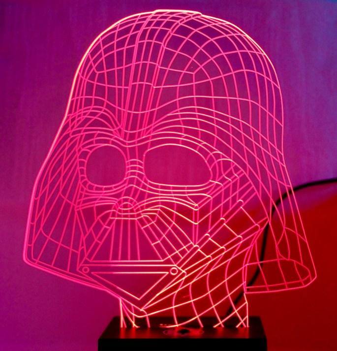 Darth Vader Lamp by Jez Braithwaite