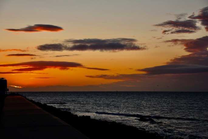 Sunrise at Arbroath by Jez Braithwaite