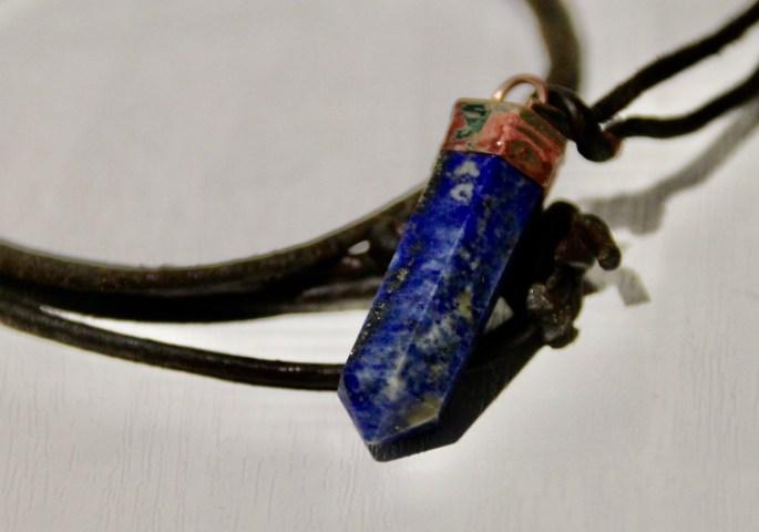 Lapis lazuli pendant by Jez Braithwaite