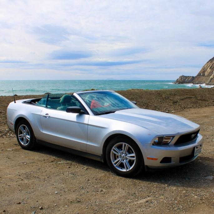 Mustang, top doon