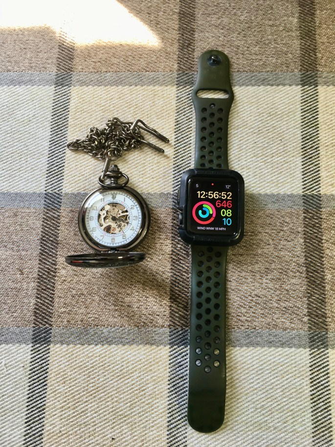 Pocket watch & Apple watch
