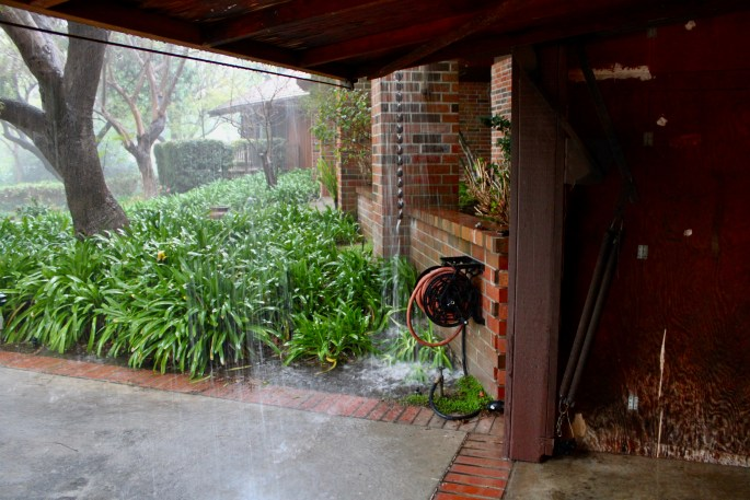Malibu downpour