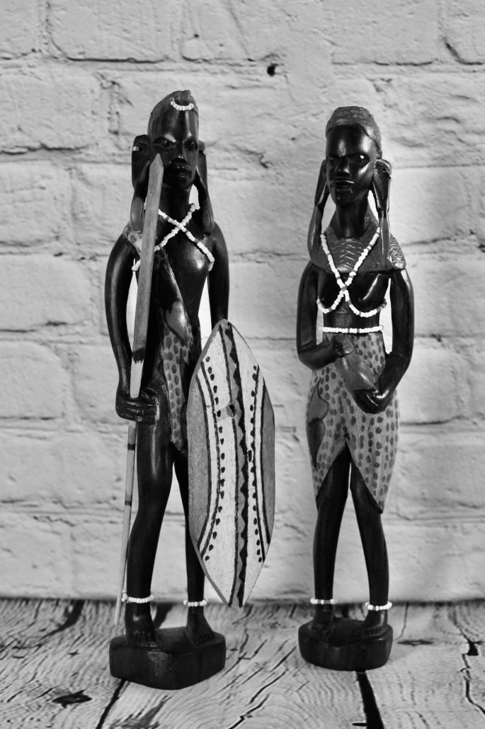 Maasai figurines