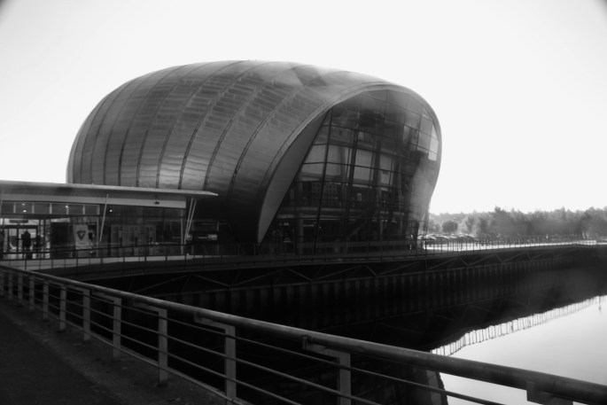 Glasgow Imax -- Looks a bit like a loaf of bread!
