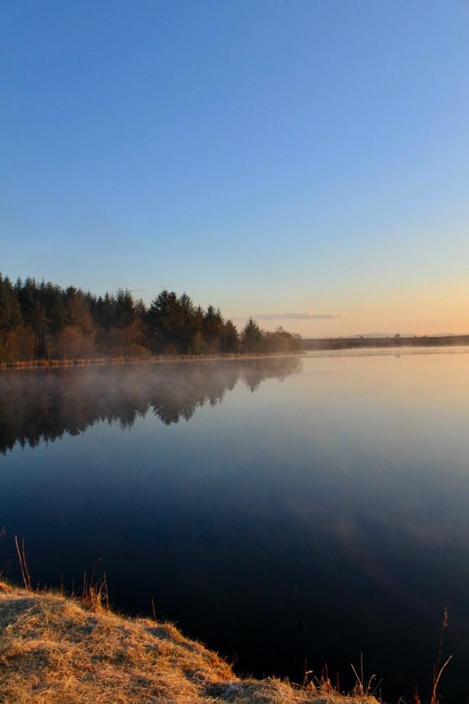 Reflections in Fannyside Lochs