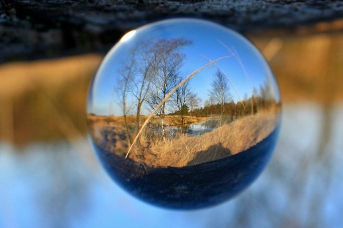 Lochan through a lensball