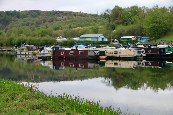 Auchinstarry Marina on the Forth & Clyde Canal