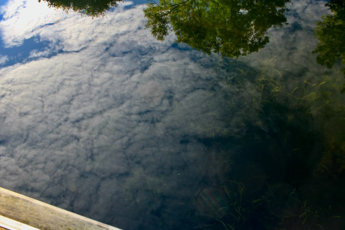 AltoCu reflected in Forth & Clyde Canal