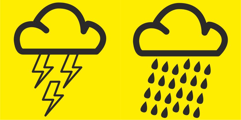 Aviso Amarelo – Precipitação- Distrito de Santarém | 14 ABR