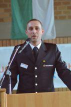 Stellvertretender Kreisjugendfeuerwehrwart Marvin Kühnemann