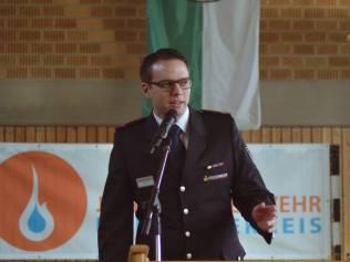 Kreisjugendfeuerwehrwart Björn Hussal