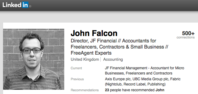 Contractor Accountant Recommendations