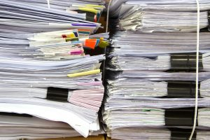HMRC scanned electronic receipts and paperwork