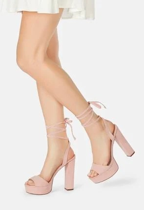 Spencer Platform Heeled Sandal