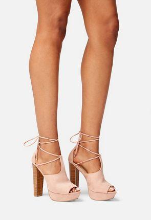 Nylia Platform Heeled Sandal