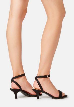 Trinsey Kitten Heel Sandal