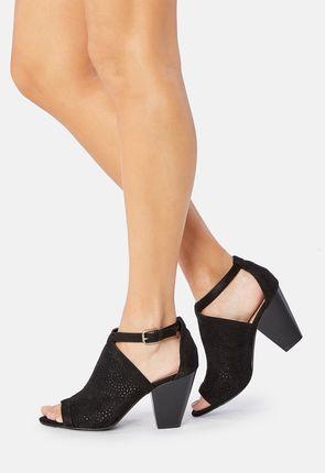 Amena Perforated Sandal