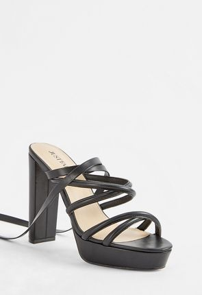 Bristol Lace-Up Heeled Sandal