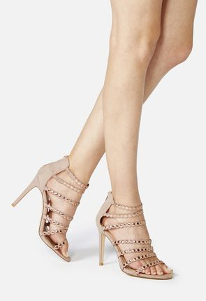 Sivan Strappy Heeled Sandal