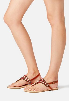 Ensley Beaded Sandal