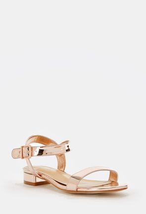 Aisha Low Block Heel Sandal