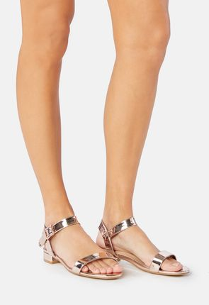 Aisha Low Block Heel Sandal