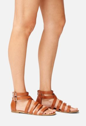 Dhanya Faux Leather Sandal