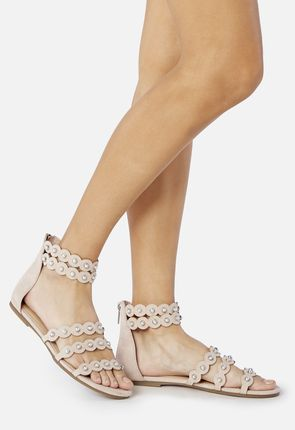 Mayleen Pearl Studded Sandal