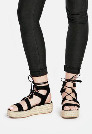 Amber Flatform Sandal