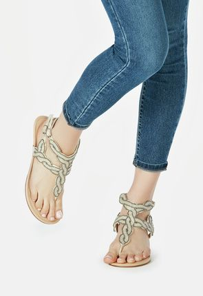 Blaire Beaded Low Wedge
