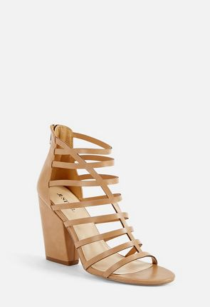 Shylynnn Caged Heeled Sandal