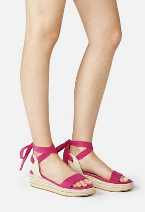 Briella Lace-Up Wedge