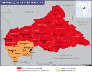Centrafrique Sécurité