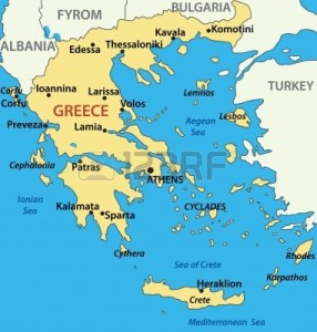 map-of-greece--vector-illustration