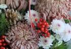 お正月花としめ縄飾りのご案内