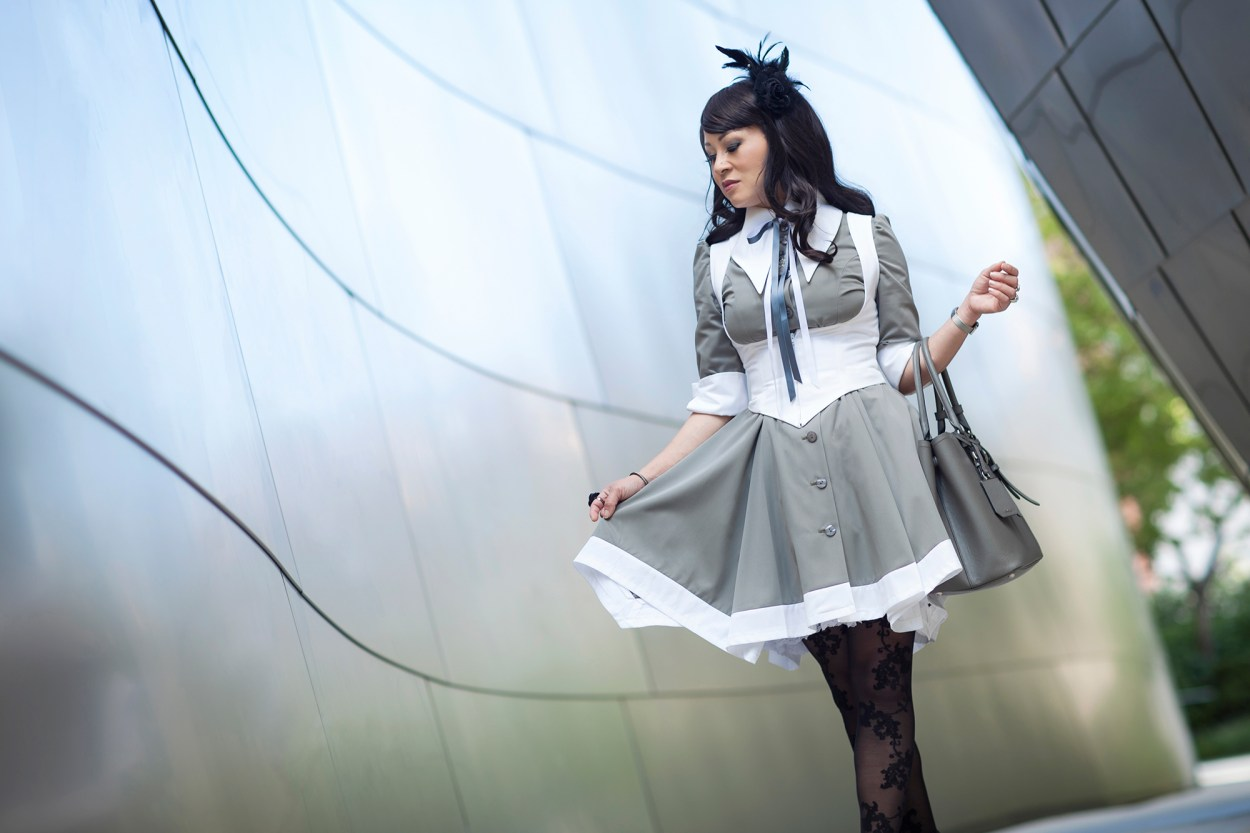 11-Atelier-BOZ-Carol-Neo-Dress-Female-Women-Fashion-Lolita-JFashion-Prada-Urban-Disney-Hall-Los-Angeles
