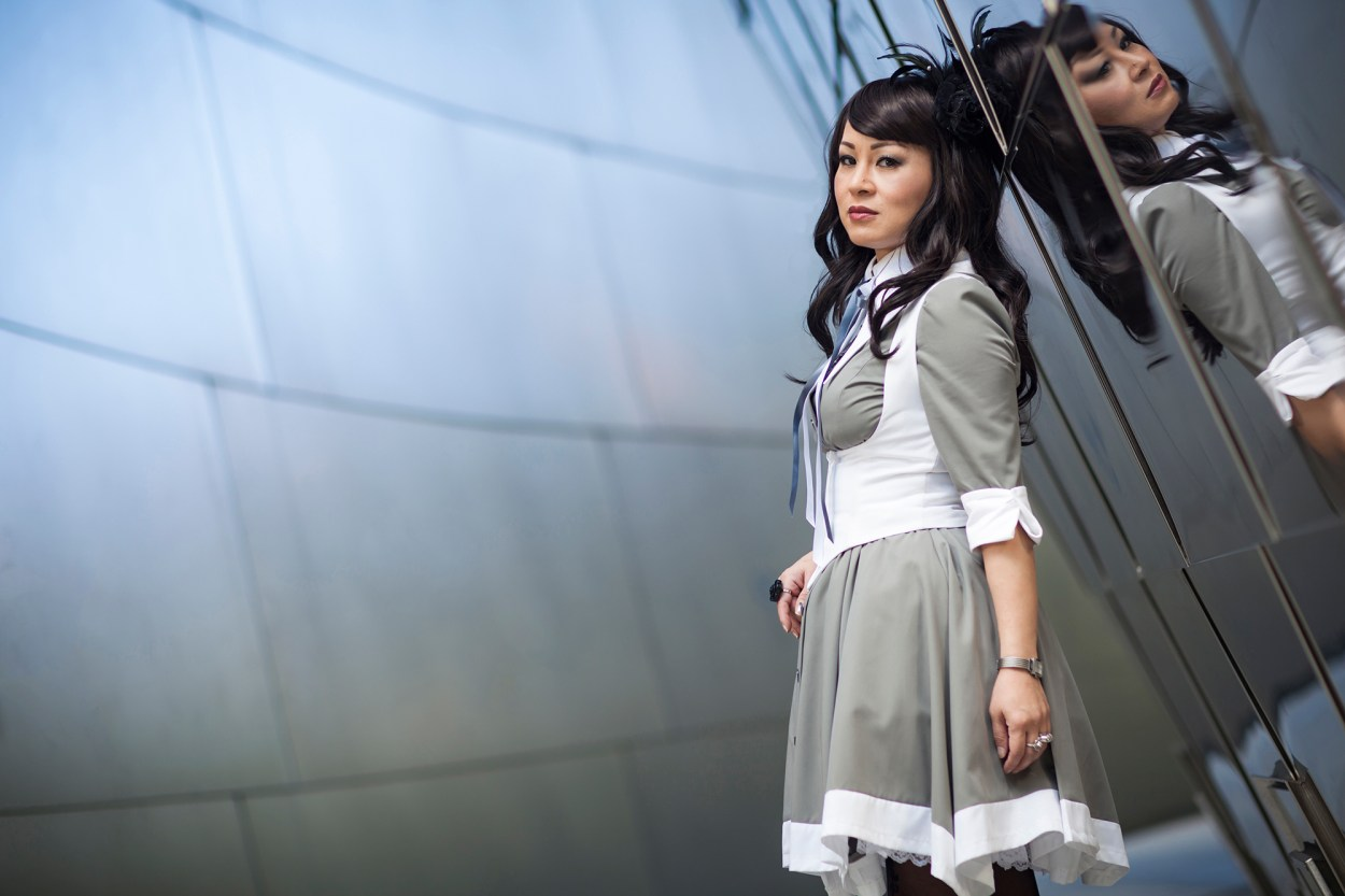13-Atelier-BOZ-Carol-Neo-Dress-Female-Women-Fashion-Lolita-JFashion-Prada-Urban-Disney-Hall-Los-Angeles