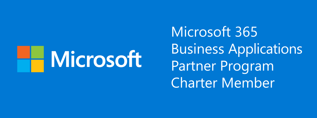 Microsoft 365 Business Applications Charter Partner