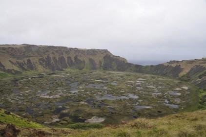 Rano Kau, a very bio diverse crater