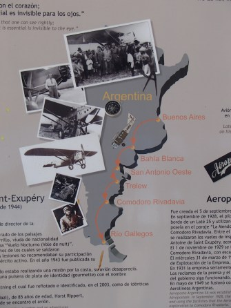 More info on Sainte-Exupery's time in Patagonia