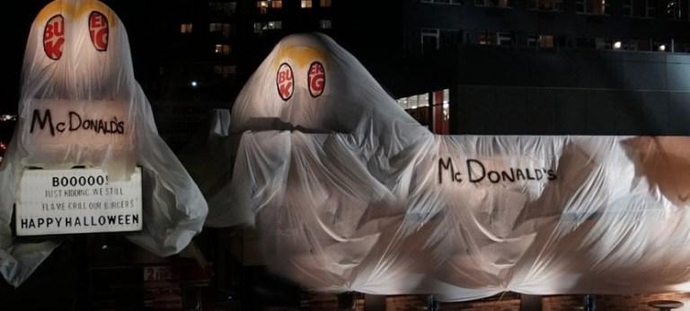 Read more about the article Burger King a trouvé un costume d'Halloween original
