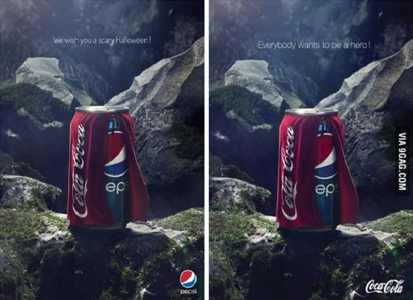 Pepsi Coke Halloween