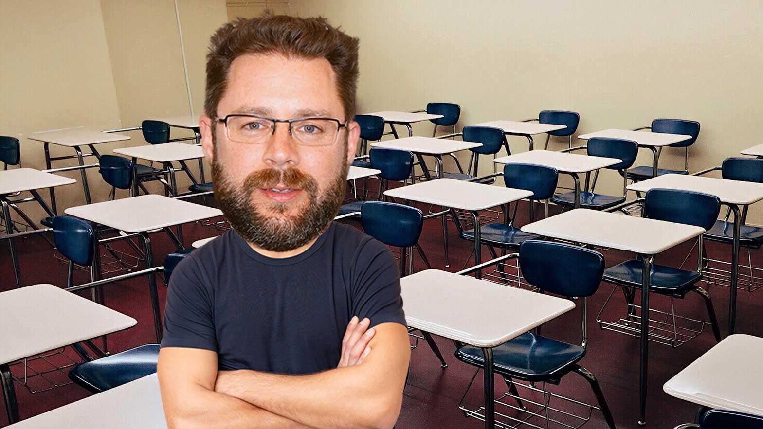 Papa, pourquoi les murs de ma classe sont blancs