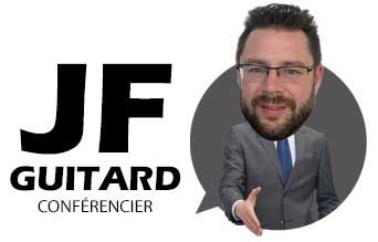 Jean-François Guitard, conférencier motivateur spécialisé en service à la clientèle, vente et marketing