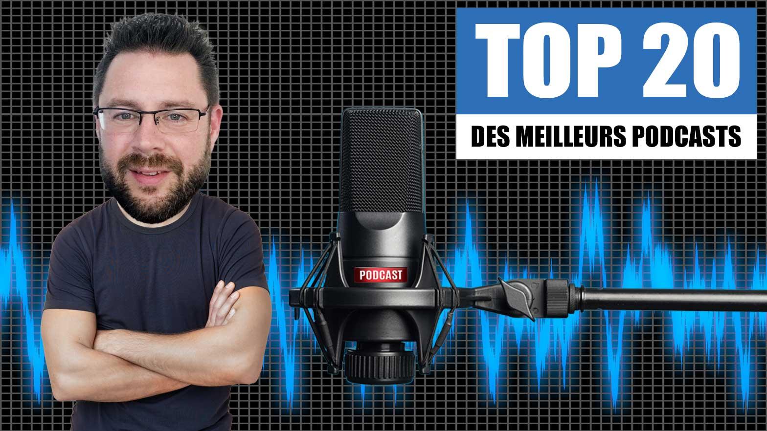 20 meilleurs podcasts