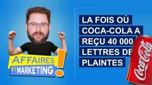 Read more about the article Podcast | E12: La fois où Coca-Cola a reçu 40 000 lettres de plaintes