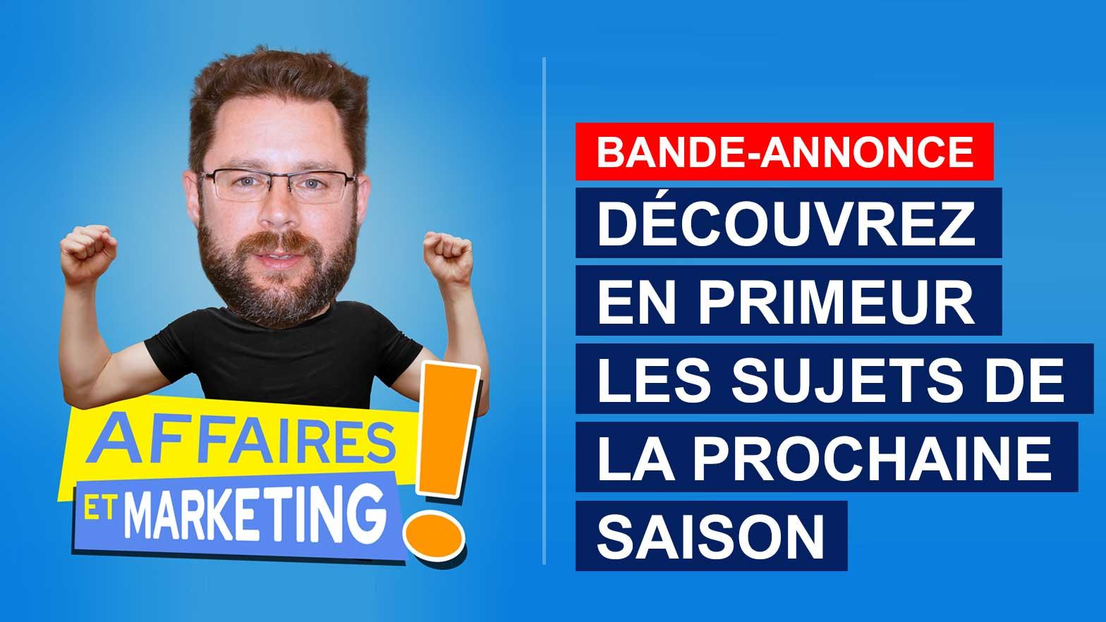 Affaires et marketing - Saison 2